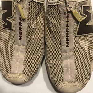 Merrell Arabesque Beige Loafer Shoe Women 7.5